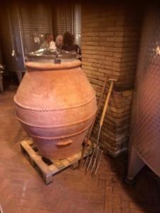 Metodo di fare il vino come gli etruschi
